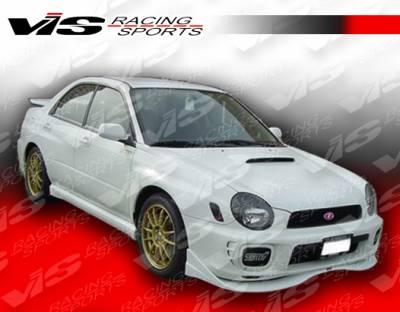 WRX - Front Bumper - VIS Racing - Subaru WRX VIS Racing Z Sport Front Lip - 02SBWRX4DZST-011