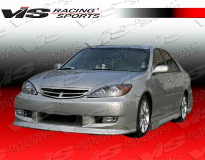 Camry - Front Bumper - VIS Racing - Toyota Camry VIS Racing TSP Front Bumper - 02TYCAM4DTSP-001