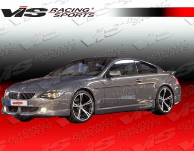 6 Series - Front Bumper - VIS Racing - BMW 6 Series VIS Racing A-Tech Front Lip - 03BME632DATH-011