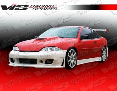 Cavalier 2Dr - Front Bumper - VIS Racing - Chevrolet Cavalier VIS Racing TSC-3 Front Bumper - 03CHCAV2DTSC3-001
