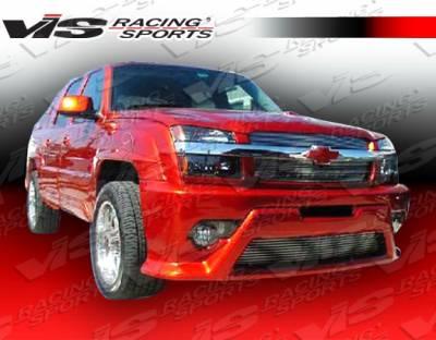 Silverado - Front Bumper - VIS Racing. - Chevrolet Silverado VIS Racing Outcast-3 Front Bumper - 03CHSIL2DOC3-001