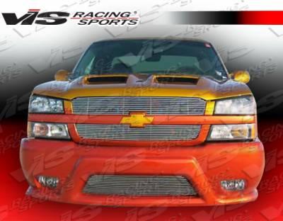 Silverado - Front Bumper - VIS Racing - Chevrolet Silverado VIS Racing Phoenix-2 Front Bumper - 03CHSIL2DPHX2-001