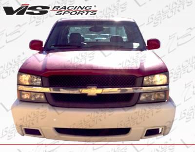 Silverado - Front Bumper - VIS Racing - Chevrolet Silverado VIS Racing SS Front Bumper - 03CHSIL2DSS-001