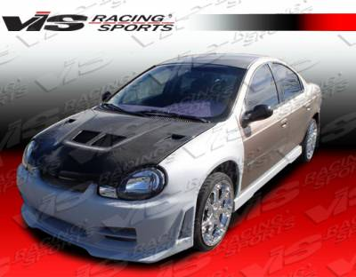 Neon 4Dr - Front Bumper - VIS Racing - Dodge Neon 4DR VIS Racing Octane Front Bumper - Polyurethane - 03DGNEO4DOCT-001P