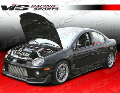 Neon 2Dr - Front Bumper - VIS Racing - Dodge Neon VIS Racing V-Spec Carbon Fiber Lip - 03DGNEO4DSRTVSC-011C