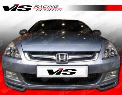 Accord 2Dr - Front Bumper - VIS Racing - Honda Accord 2DR VIS Racing Speedster Front Lip - 03HDACC2DSSR-011