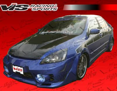 Accord 4Dr - Front Bumper - VIS Racing - Honda Accord 4DR VIS Racing Evo 5 Front Bumper - 03HDACC4DEVO5-001