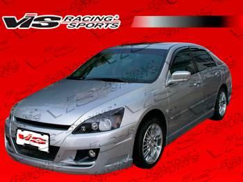 Accord 4Dr - Front Bumper - VIS Racing - Honda Accord 4DR VIS Racing VIP Front Bumper - 03HDACC4DVIP-001