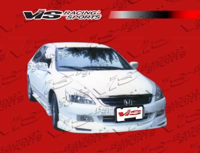 Accord 4Dr - Front Bumper - VIS Racing - Honda Accord 4DR VIS Racing VIP-2 Front Lip - 03HDACC4DVIP2-011
