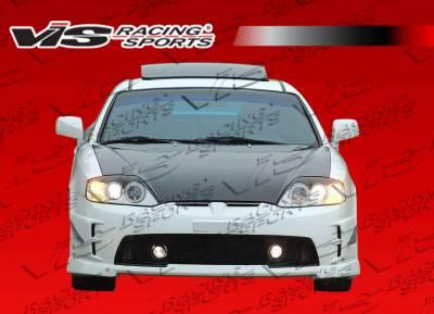 Tiburon - Front Bumper - VIS Racing - Hyundai Tiburon VIS Racing Tornado Front Bumper - 03HYTIB2DTND-001
