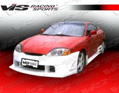 Tiburon - Front Bumper - VIS Racing - Hyundai Tiburon VIS Racing Wings Front Bumper - 03HYTIB2DWIN-001