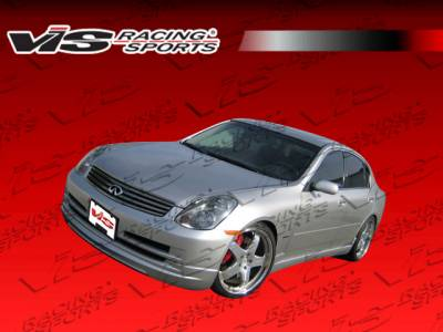 G35 4Dr - Front Bumper - VIS Racing - Infiniti G35 4DR VIS Racing VIP Front Lip - 03ING354DVIP-011