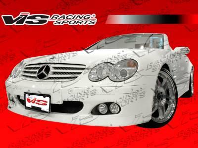 SL - Front Bumper - VIS Racing - Mercedes-Benz SL VIS Racing B-Spec Front Bumper - 03MER2302DBSC-001