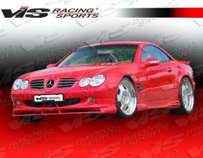 SL - Front Bumper - VIS Racing - Mercedes-Benz SL VIS Racing O Tech Front Lip - 03MER2302DOTH-011