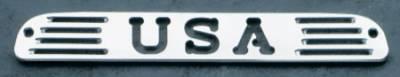 Headlights & Tail Lights - Third Brake Lights - All Sales - All Sales Third Brake Light Cover - USA Design - Polished - 54404P