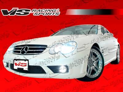 SL - Front Bumper - VIS Racing - Mercedes-Benz SL VIS Racing SL63 Front Bumper - 03MER2302DSL63-001