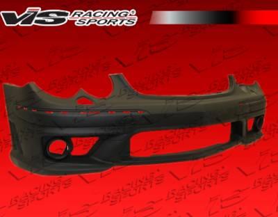 CLK - Front Bumper - VIS Racing - Mercedes-Benz CLK VIS Racing C63 Style Front Bumper - 03MEW2082DC63-001