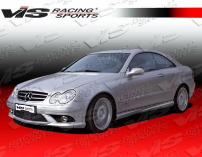 CLK - Front Bumper - VIS Racing - Mercedes-Benz CLK VIS Racing Euro Tech Front Bumper - 03MEW2092DET-001
