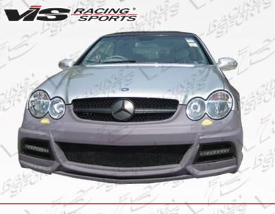 CLK - Front Bumper - VIS Racing - Mercedes-Benz CLK VIS Racing VIP Front Bumper - 03MEW2092DVIP001
