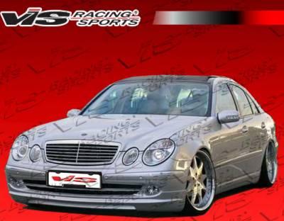 E Class - Front Bumper - VIS Racing - Mercedes-Benz E Class VIS Racing B-Spec Front Lip - 03MEW2114DBS-011