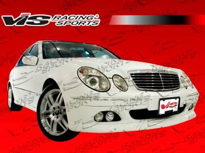 E Class - Front Bumper - VIS Racing - Mercedes-Benz E Class VIS Racing B Spec Front Bumper - 03MEW2114DBSC-001