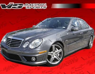 E Class - Front Bumper - VIS Racing - Mercedes-Benz E Class VIS Racing E63 Style Front Bumper - 03MEW2114DE63-001