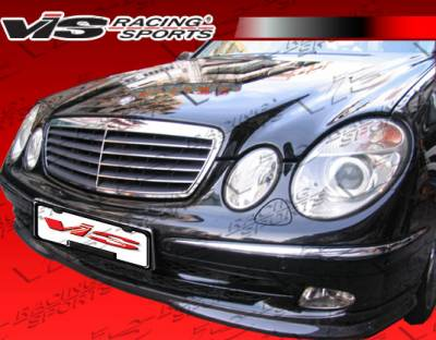 E Class - Front Bumper - VIS Racing - Mercedes-Benz E Class VIS Racing Euro Tech-2 Front Lip - 03MEW2114DET2-011