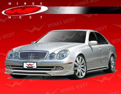 E Class - Front Bumper - VIS Racing - Mercedes-Benz E Class VIS Racing JPC Front Lip - Polyurethane - 03MEW2114DJPC-011P