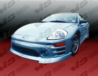 Eclipse - Front Bumper - VIS Racing - Mitsubishi Eclipse VIS Racing Sniper Front Lip - 03MTECL2DSNI-011