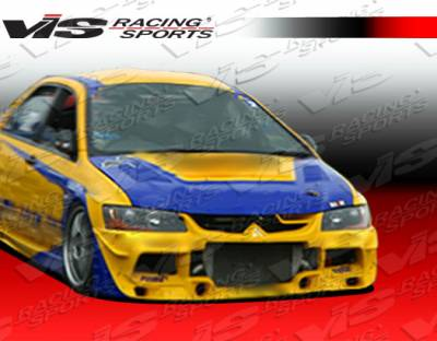 Lancer - Front Bumper - VIS Racing - Mitsubishi Lancer VIS Racing JGT Limited Edition Front Bumper - 03MTEV84DJTC-001