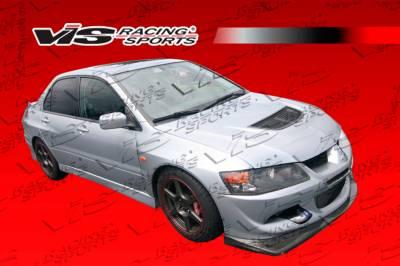 Lancer - Front Bumper - VIS Racing - Mitsubishi Lancer VIS Racing VRS Carbon Front Lip - 03MTEV84DVRS-011C