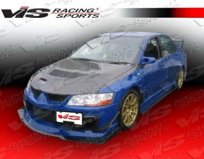 Lancer - Front Bumper - VIS Racing - Mitsubishi Lancer VIS Racing Z-Speed Carbon Front Lip - 03MTEV84DZSP-011C