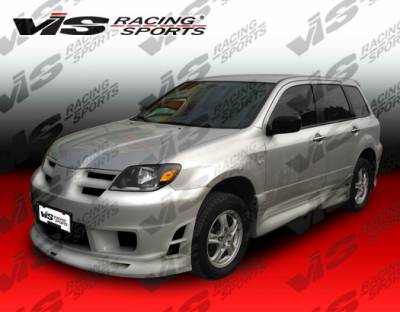 Outlander - Front Bumper - VIS Racing - Mitsubishi Outlander VIS Racing K Speed Front Bumper - 03MTOUT4DKSP-001