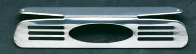 Headlights & Tail Lights - Third Brake Lights - All Sales - All Sales Third Brake Light Cover - Oval Design Design - Polished - 55004P