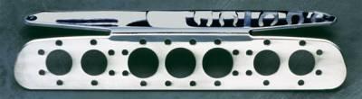 Headlights & Tail Lights - Third Brake Lights - All Sales - All Sales Third Brake Light Cover - Euro Tech Design - Polished - 55020P