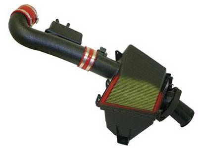 Air Intakes - Oem Air Intakes - aFe - Nissan Armada aFe MagnumForce Pro-5R Super Stock Air Intake System - 55-10310