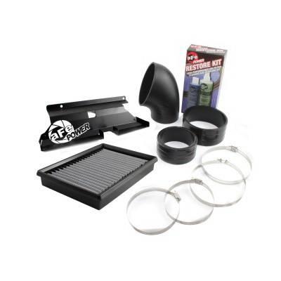 Air Intakes - Oem Air Intakes - aFe - BMW 3 Series aFe MagnumForce Pro-Dry-S Super Stock Air Intake System - 55-10461