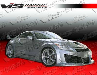 350Z - Front Bumper - VIS Racing - Nissan 350Z VIS Racing Ravage Front Bumper - 03NS3502DRAV-001
