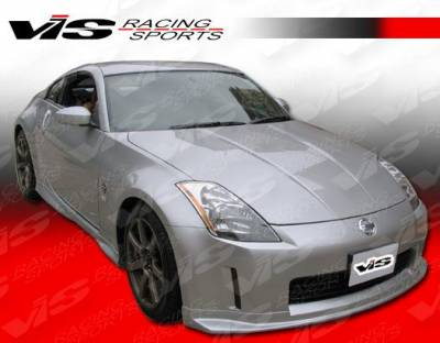 350Z - Front Bumper - VIS Racing. - Nissan 350Z VIS Racing Techno R Front Lip - 03NS3502DTNR-011