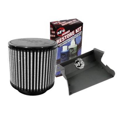 Air Intakes - Oem Air Intakes - aFe - BMW 3 Series aFe MagnumForce Pro-Dry-S Super Stock Air Intake System - 55-11811