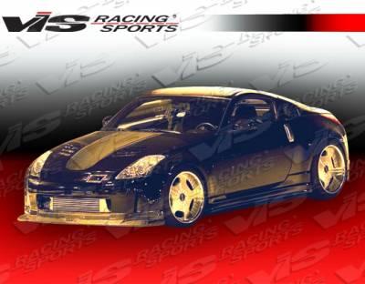 350Z - Front Bumper - VIS Racing - Nissan 350Z VIS Racing Tracer Carbon Fiber Lip - 03NS3502DTRA-011C