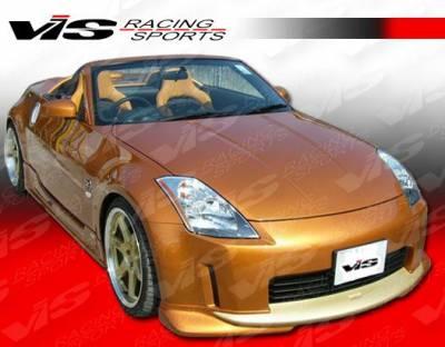 350Z - Front Bumper - VIS Racing - Nissan 350Z VIS Racing V Spec Front Lip - 03NS3502DVSC-011