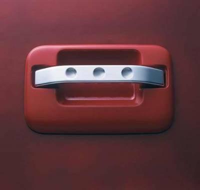 SUV Truck Accessories - Chrome Billet Door Handles - All Sales - All Sales Chrome Billet Door Handle Replacements - Dimple Handle - Pair - 575C