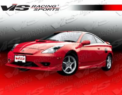 Celica - Front Bumper - VIS Racing - Toyota Celica VIS Racing Zyclone Front Lip - 03TYCEL2DZYC-011
