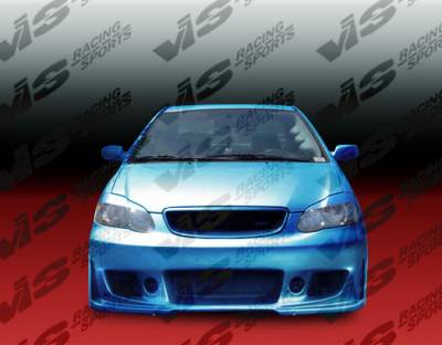Corolla - Front Bumper - VIS Racing - Toyota Corolla VIS Racing TSC-3 Front Bumper - 03TYCOR4DTSC3-001