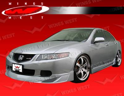 TSX - Front Bumper - VIS Racing - Acura TSX VIS Racing JPC Front Lip - 04ACTSX4DJPC-011P