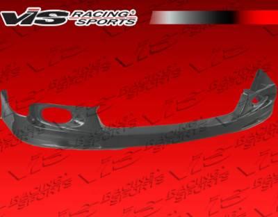 TSX - Front Bumper - VIS Racing - Acura TSX VIS Racing JS Carbon Front Lip - 04ACTSX4DJS-011C