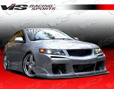 TSX - Front Bumper - VIS Racing - Acura TSX VIS Racing Laser Front Bumper - 04ACTSX4DLS-001