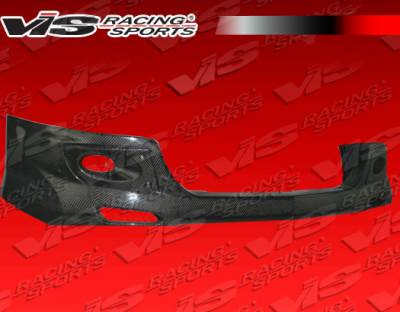 TSX - Front Bumper - VIS Racing - Acura TSX VIS Racing Techno-R Carbon Front Lip - 04ACTSX4DTNR-011C