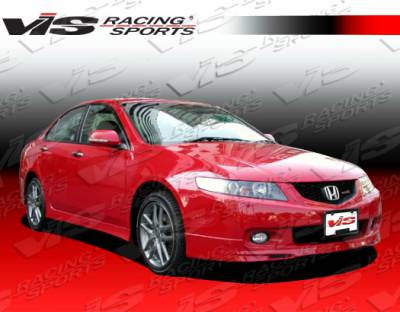 TSX - Front Bumper - VIS Racing - Acura TSX VIS Racing Type R Front Lip - 04ACTSX4DTYR-011